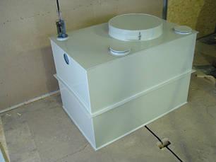 Система очистки жировмісних стічних вод. Сепаратори жиру.