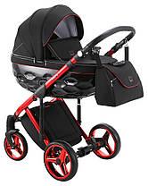 Дитяча універсальна коляска 2 в 1 Adamex Chantal Polar Red Chrome C9