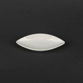 Соусница-лист фарфоровая 40 мл Helios (HR1567)