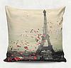 Декоративная подушка Любовь в Париже