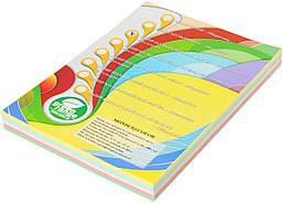 Бумага цветная IQ Пастель А4, 80гр/м2, набор 5 цв., 250 листов
