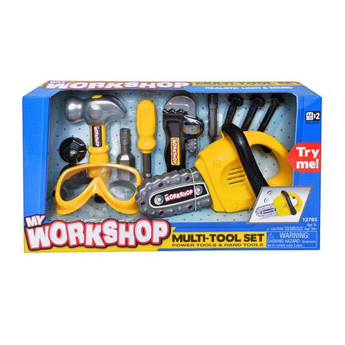 Набір дитячих інструментів з бензопилою