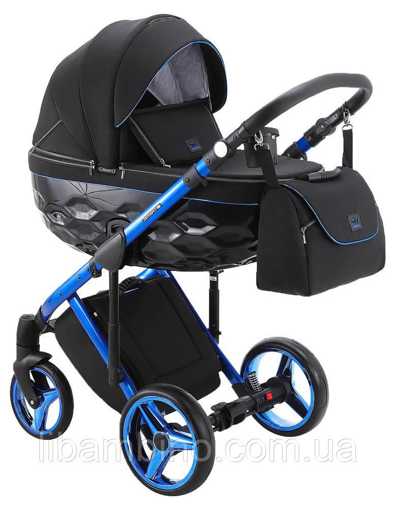 Дитяча універсальна коляска 2 в 1 Adamex Chantal Polar Blue Chrome C10