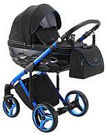 Дитяча універсальна коляска 2 в 1 Adamex Chantal Polar Blue Chrome C10, фото 1