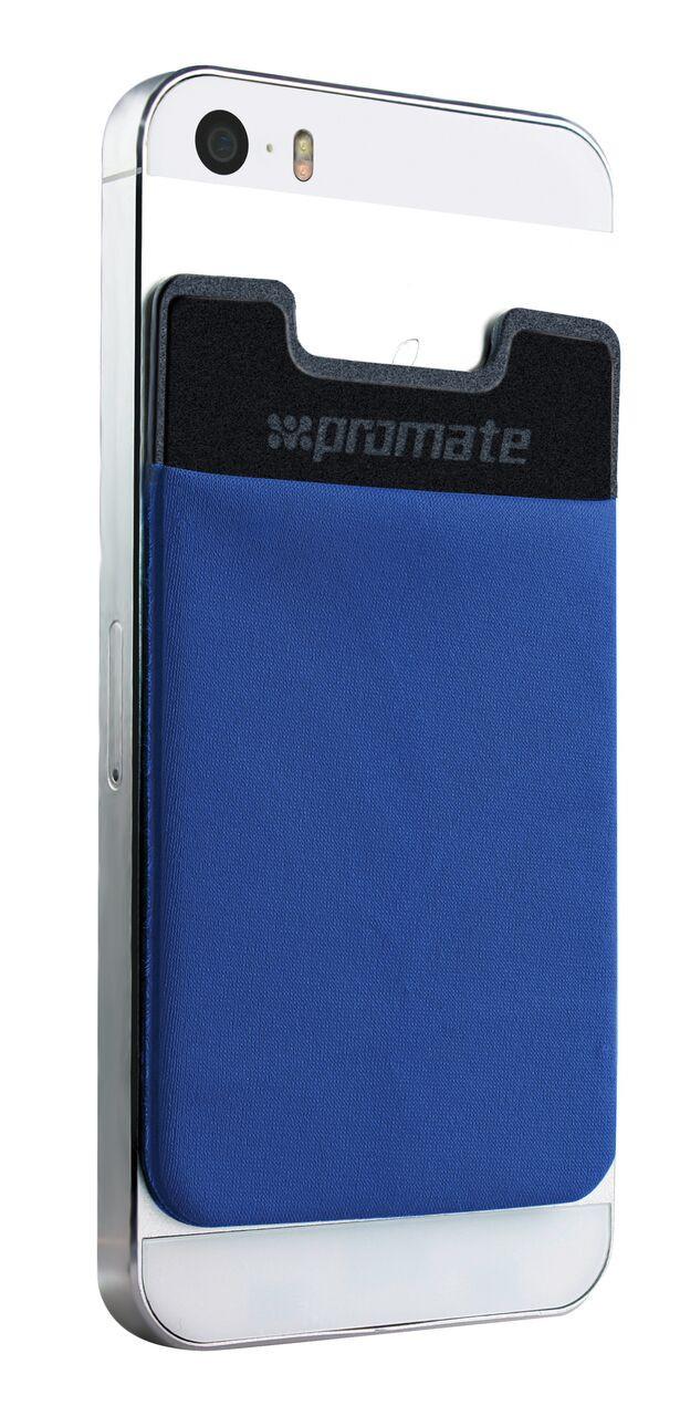 Стикер-накладка для карт Promate Cardo Blue
