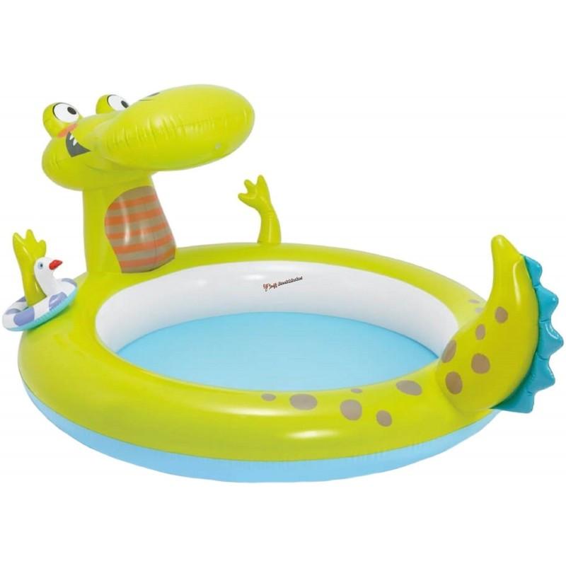 """Детский бассейн """"Крокодил"""" Intex 57431 198х160х91"""