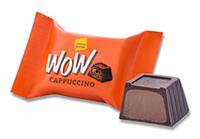 """Конфеты шоколадные Wow Cappuccino с молочно-шоколадной начинкой  к/у 1,5кг ТМ """"Chocoboom"""""""