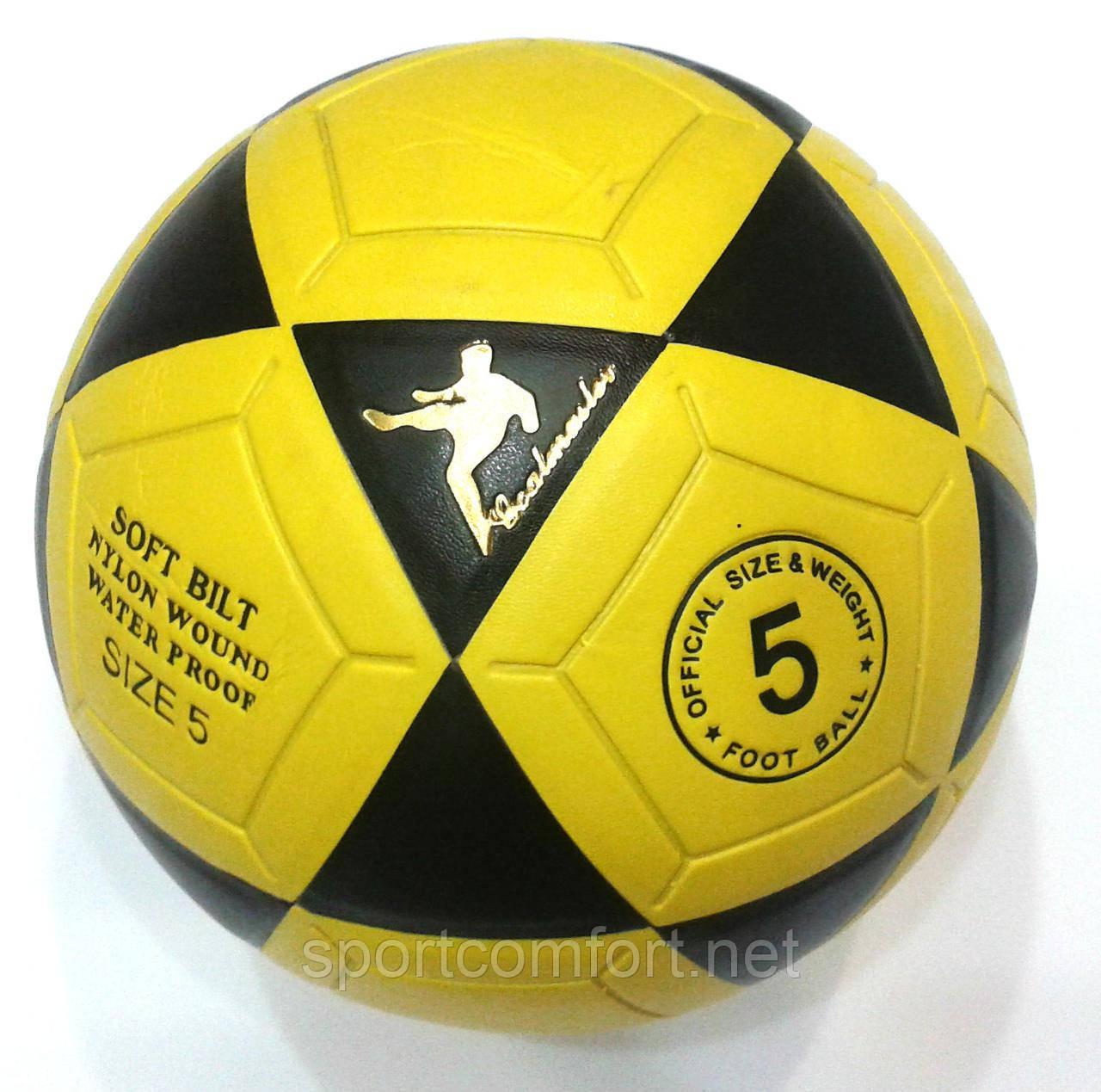 М'яч футбольний №5 безшовний (ПВХ) Extreme motion (футбольний м'яч)
