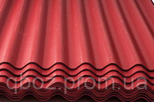Кровля Керамопласт - Волна с капелярной канавкой. Красный, фото 2