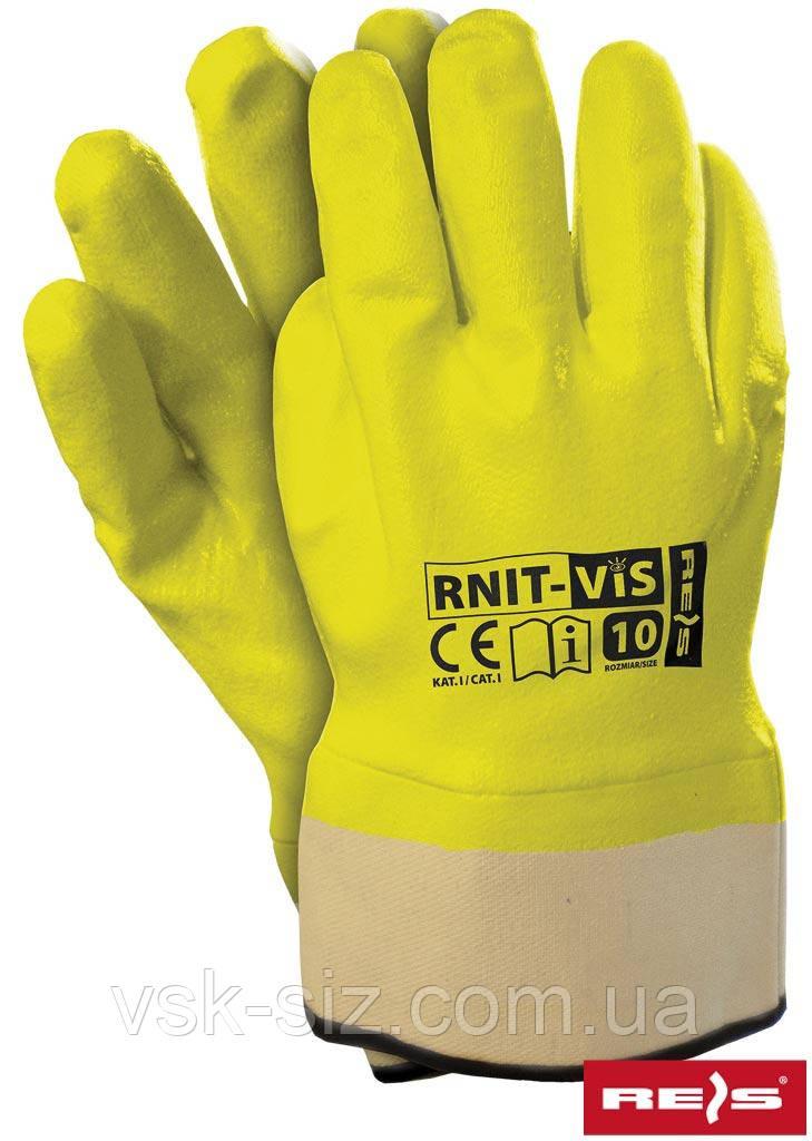 Перчатки Нитриловые RNIT-VIS REIS