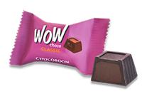 """Конфеты шоколадные Wow choco Classic с молочно-шоколадным кремом кремом    к/у 1,5кг ТМ """"Chocoboom"""""""