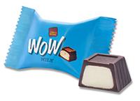 """Конфеты шоколадные  Wow choco Milk с молочным кремом  к/у 1,5кг ТМ """"Chocoboom"""""""