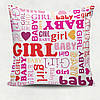Декоративная подушка Baby girl