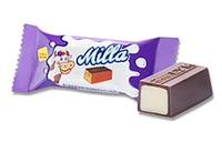 """Конфеты шоколадные Milla с молочной начинкой топленое молоко к/у 1,5кг ТМ """"Chocoboom"""""""