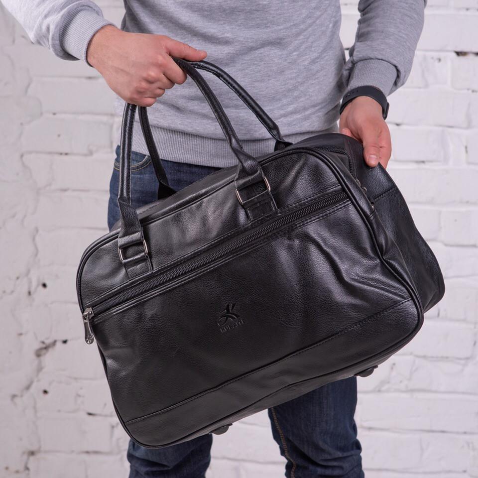 121b7a641f84 Премиум мужской кожаный рюкзак черный, без бренда - OneTrend - Трендовые  товары - уже у