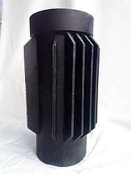 Чугунная дымоходная труба радиатор для камина