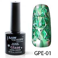 Гель-лак на прозрачной основе Lady Victory GPE-01, 7.3 мл