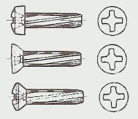 Винт самонарезающий DIN 7516 от М 3 до М 8