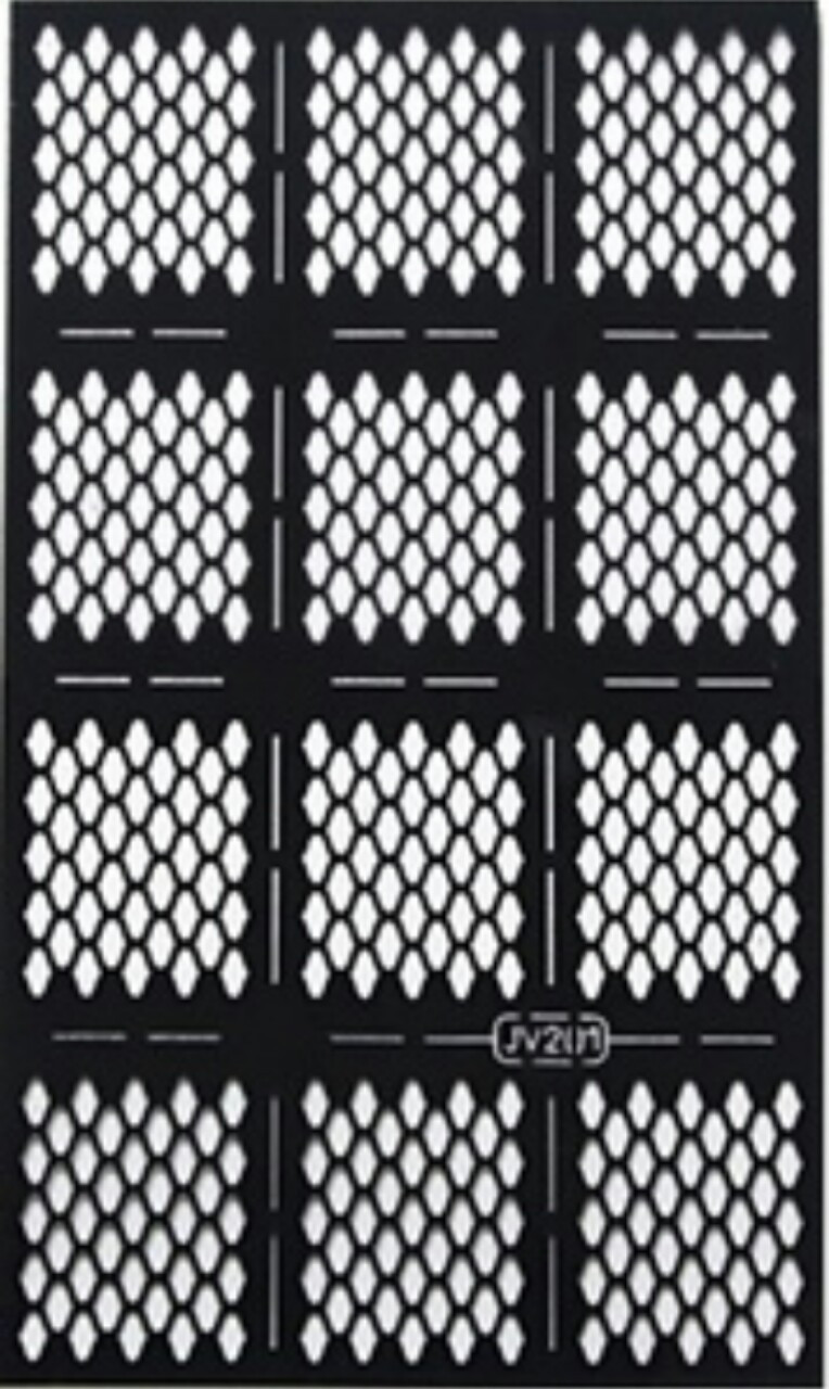 Трафарети для дизайну нігтів Nail Art Hollow Sticker №201