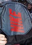 Рюкзак спортивний Nike Найк на два відділи., фото 3