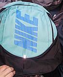 Рюкзак спортивный Nike Найк  на два отдела. Разные расцветки, фото 4