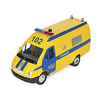 Автомодель Технопарк Газель Полиция (CT-1276-17PU)
