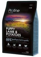 Сухой корм Profine Puppy Lamb с ягненком и картофелем для щенков и молодых собак