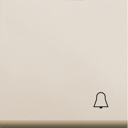Клавиша с символом Звонок LUMINA2 Hager крем WL6011