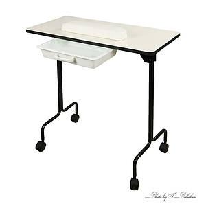 Складной маникюрный столик для педикюрного кресла