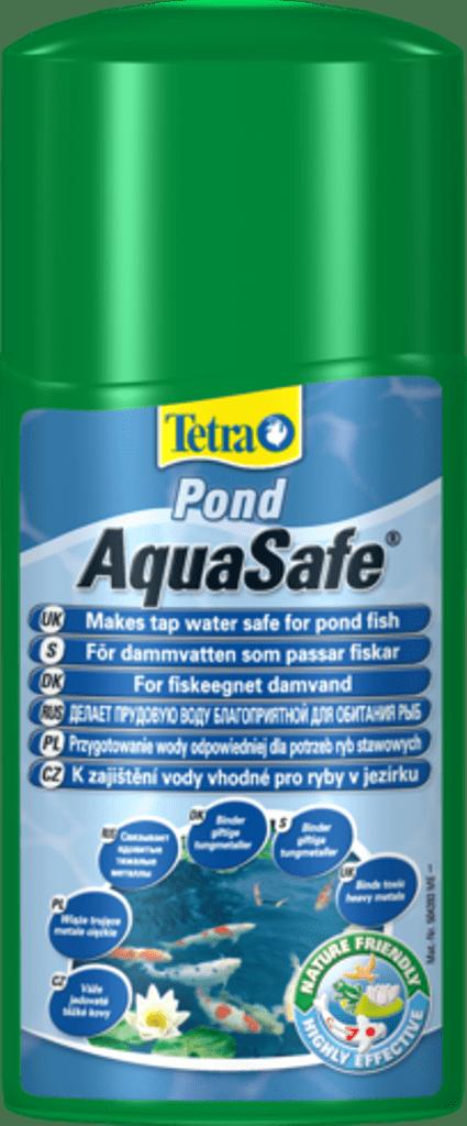 Для подготовки воды в пруду. TetraPond AquaSafe 1л