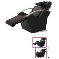 Парикмахерская кресло-мойка для барбершопа с регулировкой спинки и подножки E043
