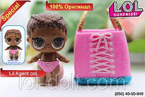 Кукла LOL Surprise Lil Agent ool - Bigger Лол Сюрприз Без Шара Оригинал