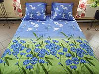 Комплект постельного белья бязь Голд Васильки, фото 1