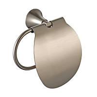 Держатель туалетной бумаги с крышкой Kraus Amnis KEA-11126BN