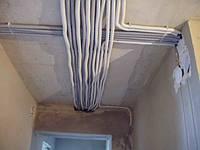 Монтаж электропроводки квартир домов