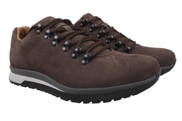 Туфли спорт Samas нубук, цвет коричневый