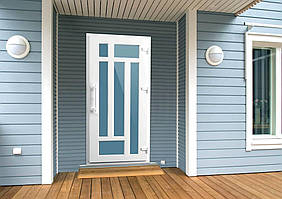 Дверь металлопластиковая входная современный дизайн