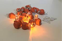 Светодиод оранжевый для шаров