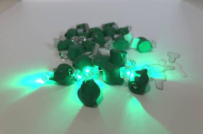 Светодиод зеленый для шаров, фото 2