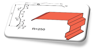 Торцевая планка ТП-1