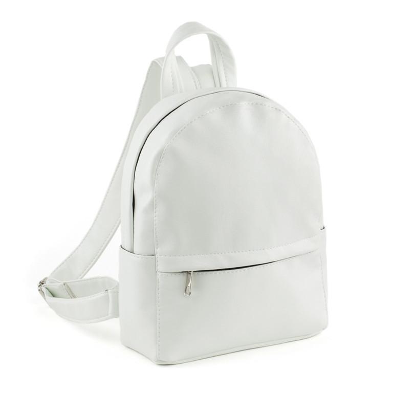 Рюкзак Fancy mini белый лаки