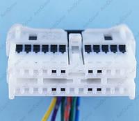 Разъем электрический 24-х контактный (35-12) б/у, фото 1