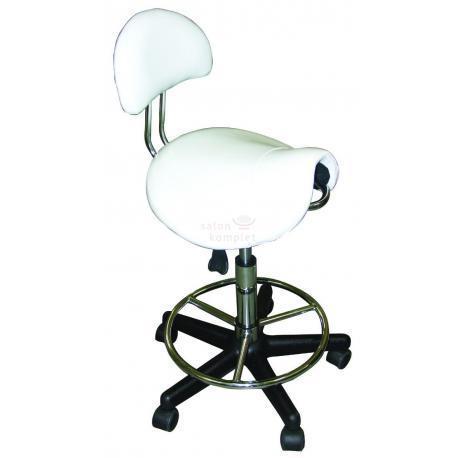 Стул-седло для работы с удобной спинкой стулья мастера  2110