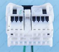 Разъем электрический 16-и контактный (25-12) б/у