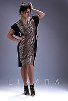 Женское стильное платье  ИС819 (бат), фото 1