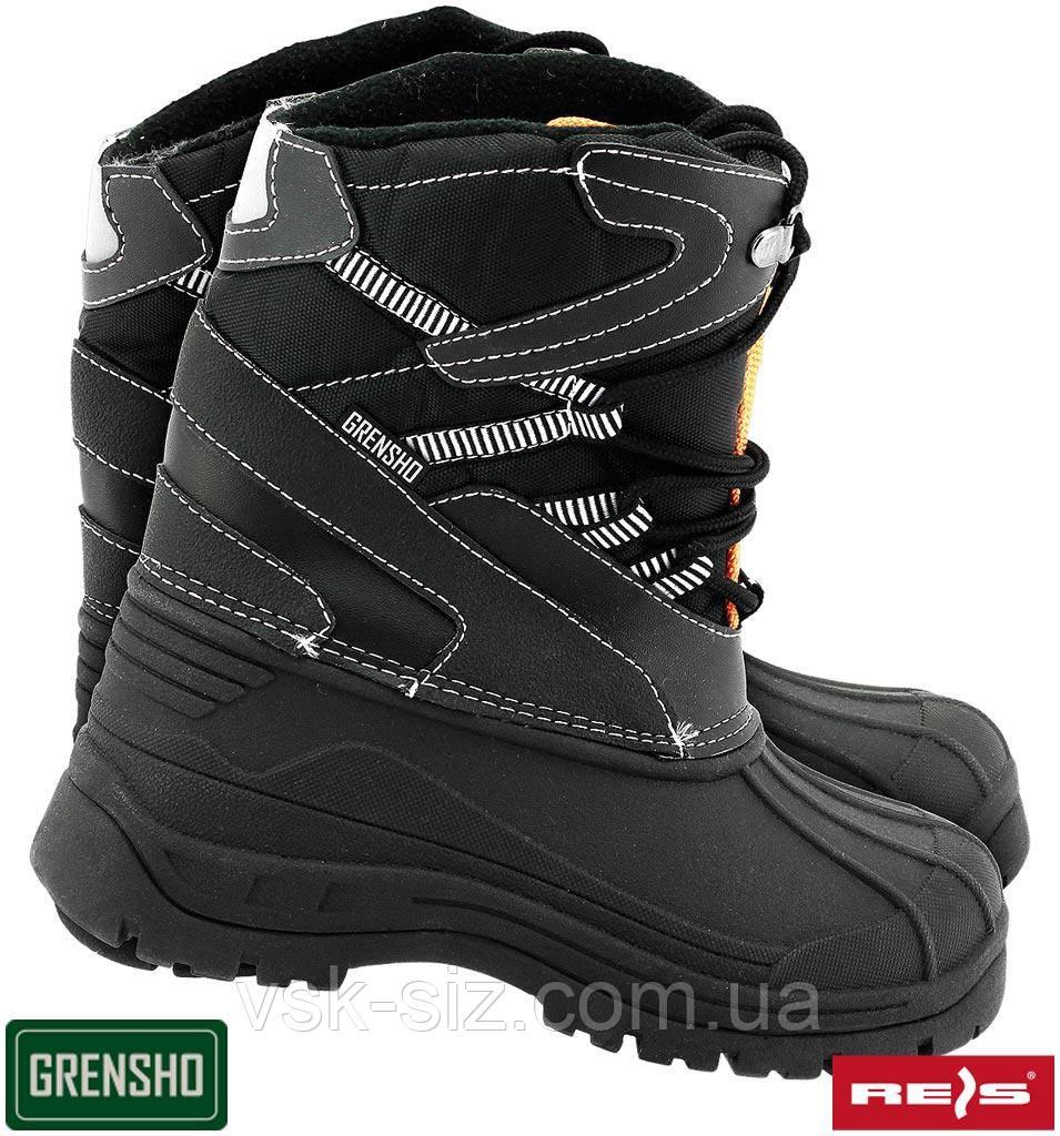 Утепленные рабочие ботинки BSNOW-FMN.