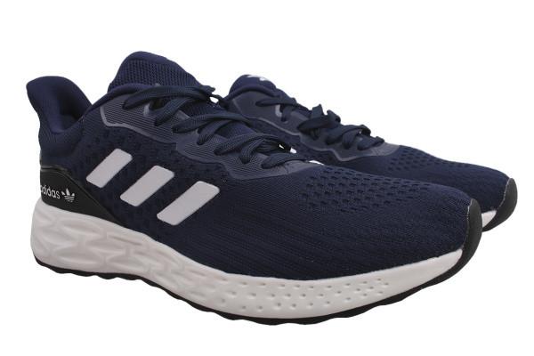 Кроссовки Adidas текстиль, цвет синий