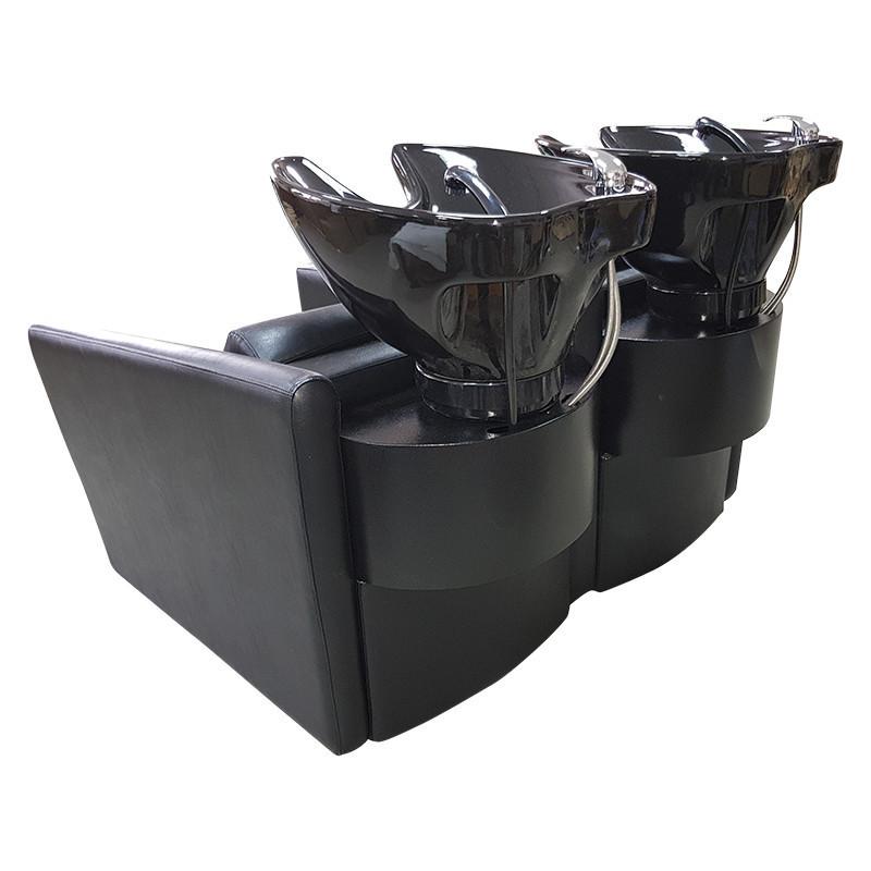 Крісло-перукарська мийка для двох персон М001007 2PS