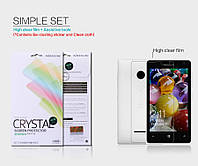 Защитная пленка Nillkin для MICROSOFT  Lumia 435 глянцевая