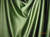 Ткань для штор. Атлас. Оливковый. Инсайт 306000000